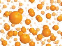 Μέρη των πορτοκαλιών στοκ φωτογραφίες με δικαίωμα ελεύθερης χρήσης