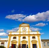 Μέριντα στην Ισπανία Plaza de Espana τετραγωνικό Badajoz Στοκ Εικόνες