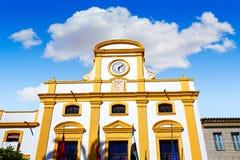 Μέριντα στην Ισπανία Plaza de Espana τετραγωνικό Badajoz Στοκ Φωτογραφία