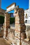 Μέριντα Badajoz στις ρωμαϊκές καταστροφές στην Ισπανία Στοκ Φωτογραφίες