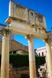 Μέριντα Badajoz στις ρωμαϊκές καταστροφές στην Ισπανία Στοκ Φωτογραφία