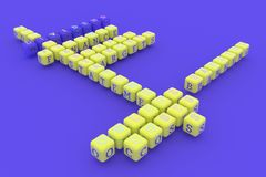 Μέρισμα, σταυρόλεξο λέξης κλειδιού χρηματοδότησης Για ιστοσελίδας, το γραφικό σχέδιο, τη σύσταση ή το υπόβαθρο r απεικόνιση αποθεμάτων