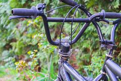 Μέρος ενός ποδηλάτου BMX στοκ εικόνες