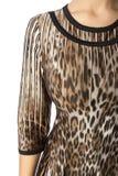 Μέρος θηλυκών του odezhy, των ώμων και των μανικιών στοκ εικόνα με δικαίωμα ελεύθερης χρήσης