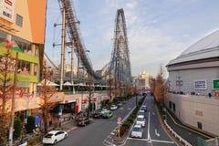 Μέρος πόλεων θόλων του Τόκιο Laqua στο Τόκιο, Ιαπωνία Στοκ εικόνα με δικαίωμα ελεύθερης χρήσης