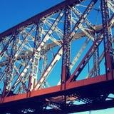 Μέρος της γέφυρας Στοκ εικόνα με δικαίωμα ελεύθερης χρήσης