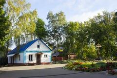 Μέρος της διακόσμησης της Ορθόδοξης Εκκλησίας μεσολάβησης στην πόλη Petrovsk στοκ φωτογραφία με δικαίωμα ελεύθερης χρήσης