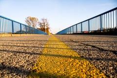 Μέρος της δομής γεφυρών στον περίβολο Στοκ φωτογραφία με δικαίωμα ελεύθερης χρήσης