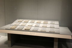 Μέρος της εκτενούς κινεζικής συλλογής τέχνης, Μουσείο Τέχνης του Κλίβελαντ, Οχάιο, 2016 Στοκ εικόνα με δικαίωμα ελεύθερης χρήσης