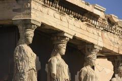μέρος της Ελλάδας καρυατίδων ακρόπολη atheens Στοκ Εικόνες