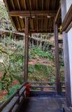 Μέρος της ιαπωνικής αρχαίας λάρνακας στοκ φωτογραφία με δικαίωμα ελεύθερης χρήσης