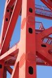 Μέρος της κινηματογράφησης σε πρώτο πλάνο πλαισίων γεφυρών Στοκ φωτογραφία με δικαίωμα ελεύθερης χρήσης