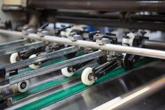 Μέρος της μηχανής στο εργοστάσιο Στοκ Εικόνες