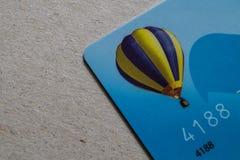 Μέρος της πιστωτικής κάρτας Στοκ Εικόνες