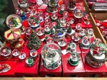 Μέρος του δώρου Χριστουγέννων για την πώληση στο φεστιβάλ Χριστουγέννων Στοκ Εικόνες