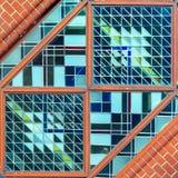 Μέρος του λεκιασμένου γυαλιού Στοκ Εικόνες