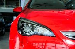 Μέρος του κόκκινου αυτοκινήτου στοκ φωτογραφία με δικαίωμα ελεύθερης χρήσης