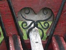 Μέρος του ξύλινου κάρρου στοκ εικόνες με δικαίωμα ελεύθερης χρήσης