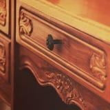 Μέρος του ξύλινου παλαιού πίνακα στοκ φωτογραφία