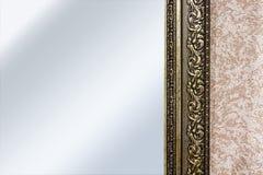 Μέρος του πλαισίου καθρεφτών Στοκ εικόνες με δικαίωμα ελεύθερης χρήσης