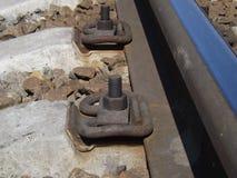 Μέρος του σιδηροδρόμου Στοκ Εικόνες