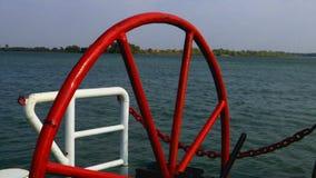 Μέρος του σκάφους στην κίνηση φιλμ μικρού μήκους
