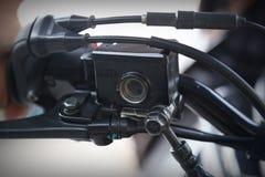 Μέρος του σώματος μοτοσικλετών, αθλητισμός μηχανών ταχύτητας, μεγάλο ποδήλατο Στοκ φωτογραφία με δικαίωμα ελεύθερης χρήσης