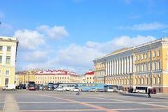 Μέρος του τετραγώνου παλατιών στοκ φωτογραφία με δικαίωμα ελεύθερης χρήσης