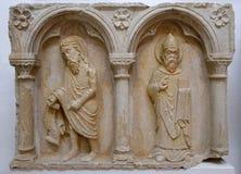 Μέρος του polyptich στη μονή του Friars ανηλίκου σε Dubrovnik Στοκ εικόνα με δικαίωμα ελεύθερης χρήσης