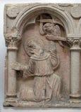 Μέρος του polyptich στη μονή του Friars ανηλίκου σε Dubrovnik Στοκ φωτογραφίες με δικαίωμα ελεύθερης χρήσης