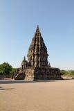 Μέρος του prambanan ναού, ινδός σύνθετος στην κεντρική Ιάβα στοκ φωτογραφία