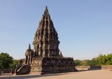 Μέρος του prambanan ναού, ινδός σύνθετος στοκ εικόνα με δικαίωμα ελεύθερης χρήσης