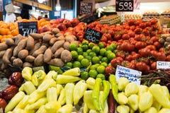 Μέρος των διαφορετικών λαχανικών σε μια αγορά στοκ φωτογραφίες με δικαίωμα ελεύθερης χρήσης
