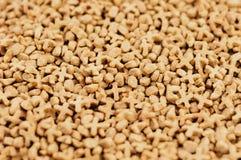 Μέρος των ξηρών τροφίμων γατών στοκ φωτογραφία με δικαίωμα ελεύθερης χρήσης