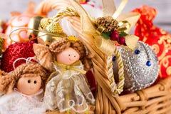 Μέρος των παιχνιδιών Χριστουγέννων Στοκ Φωτογραφία