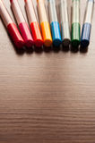 Μέρος των πολύχρωμων μανδρών πίλημα-ακρών στοκ φωτογραφία με δικαίωμα ελεύθερης χρήσης