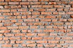 Μέρος των τούβλινων τοίχων του παλαιού κτηρίου Αιχμηρός και αντίθεση με την ισχυρότερη κορυφή σκιών της φωτογραφίας στοκ φωτογραφία με δικαίωμα ελεύθερης χρήσης