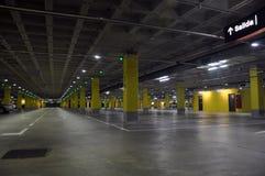 Μέρος υπαίθριων σταθμών αυτοκινήτων Στοκ φωτογραφία με δικαίωμα ελεύθερης χρήσης