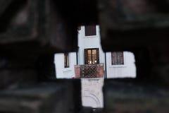 Μέρος όπως βλέπει από ένα άλλο μέρος Στοκ Εικόνες