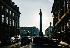 Μέρος Vendôme στο Παρίσι, Γαλλία Στοκ εικόνες με δικαίωμα ελεύθερης χρήσης