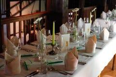 Μέσα ενός εστιατορίου Στοκ Εικόνες