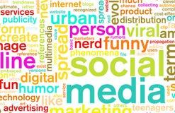 μέσα κοινωνικά διανυσματική απεικόνιση