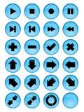 μέσα κουμπιών απεικόνιση αποθεμάτων