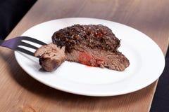 Μέσα κρέας και καρυκεύματα Στοκ εικόνες με δικαίωμα ελεύθερης χρήσης