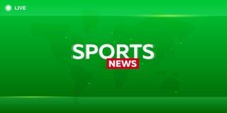 Μέσα Μαζικής Επικοινωνίας αθλητισμός εφημερίδων ειδήσεων απεικόνισης εικονιδίων Έμβλημα έκτακτων γεγονότων ζήστε Τηλεοπτικό στούν Στοκ φωτογραφία με δικαίωμα ελεύθερης χρήσης