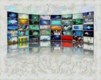 Μέσα Μαζικής Επικοινωνίας απεικόνιση αποθεμάτων