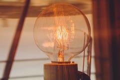 Μέσα σε έναν φάρο που παρουσιάζει εσωτερικό λαμπών φωτός Στοκ εικόνα με δικαίωμα ελεύθερης χρήσης