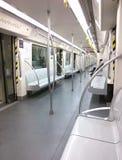 Μέσα σε ένα αυτοκίνητο μετρό Στοκ φωτογραφία με δικαίωμα ελεύθερης χρήσης