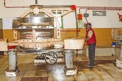 Μέσα σε ένα εργοστάσιο τσαγιού σε Nuwara Eliya, Σρι Λάνκα Στοκ φωτογραφία με δικαίωμα ελεύθερης χρήσης