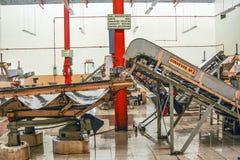 Μέσα σε ένα εργοστάσιο τσαγιού Στοκ φωτογραφίες με δικαίωμα ελεύθερης χρήσης